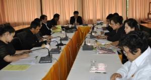 ประชุมคณะกรรมการการคัดเลือกนักเรียนและสถานศึกษา  เพื่อรับรางวัลพระราชทาน ประจำปีการศึกษา 2556