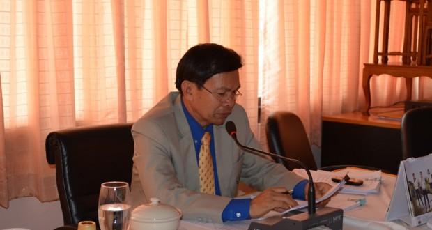 การประชุมจัดทำแผนปฏิบัติราชการ ประจำปีงบประมาณ 2557